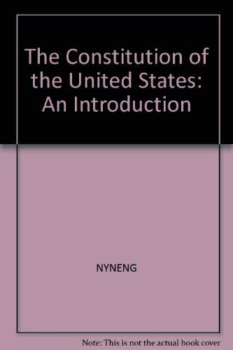 9780451623188: The Constitution of the U.S.: An Introduction