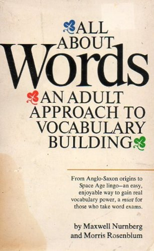 9780451623935: All About Words: An Adult Approach to Vocabulary Building