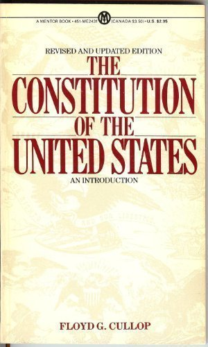 9780451624314: The Constitution of the U.S.: An Introduction (Mentor Series)