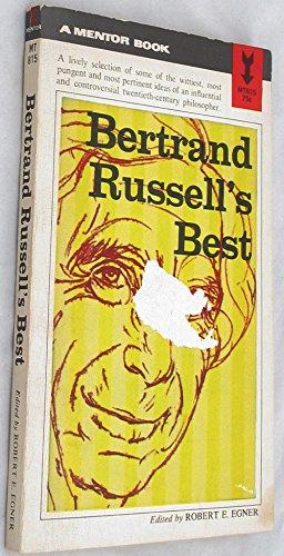 9780451625083: Bertrand Russell's Best (Mentor Series)