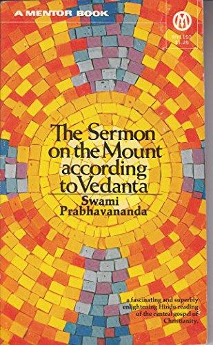 9780451625090: The Sermon on the Mount According to Vedanta