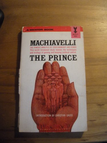 9780451625885: The Prince (Mentor)