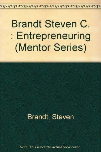9780451626134: Entrepreneuring (Mentor Series)