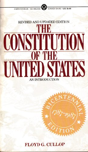 9780451626561: The Constitution of the U.S.: An Introduction (Mentor Series)
