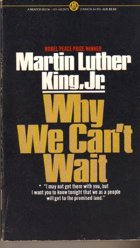 9780451626752: Why We Can't Wait (Mentor Series)