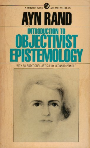 9780451626967: Rand Ayn : Intro. to Objectivist Epistemology (Mentor Series)