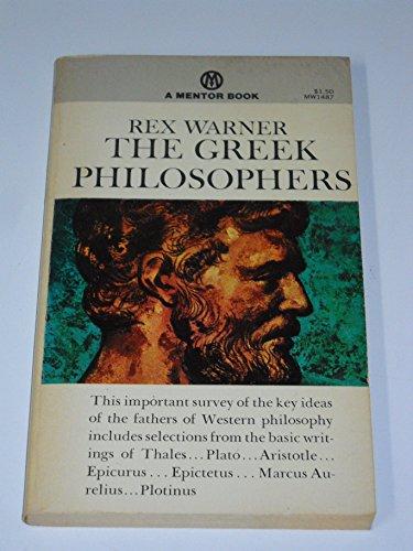 Greek Philosophers (Mentor): Rex Warner
