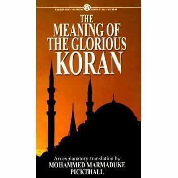 9780451627452: Pickthall Mohammed : Meaning of the Glorious Koran (Mentor Series)