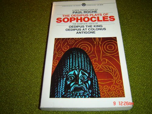 9780451628244: The Oedipus Plays of Sophocles (Mentor Series)