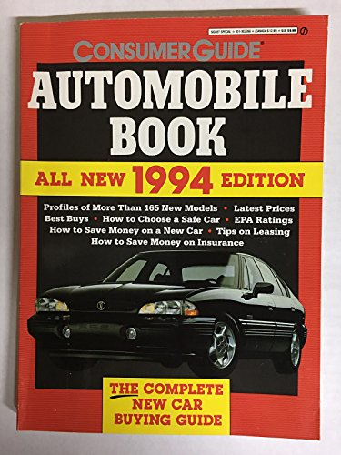9780451822666: The Automobile Book 1994: The Complete New Car Buying Guide
