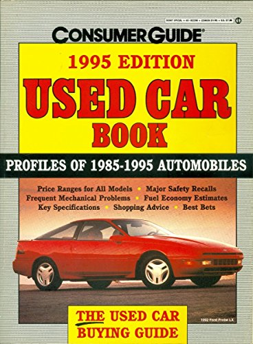 9780451822987: Used Car Book 1995 (CONSUMER GUIDE USED CAR & TRUCK BOOK)