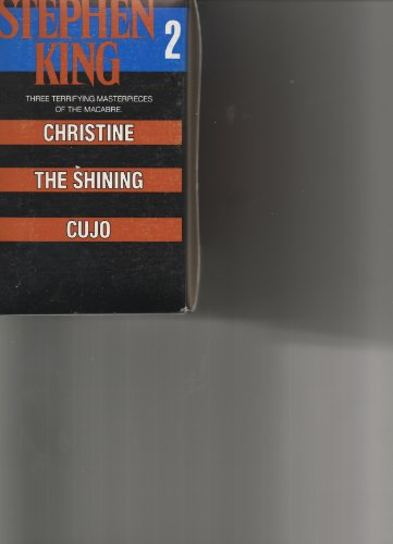 9780451921918: Stephen King 2 Boxed Set: Christine, The Shining, Cujo