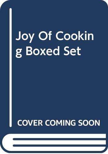 Joy Of Cooking Boxed Set: Rombauer, Irma S.;