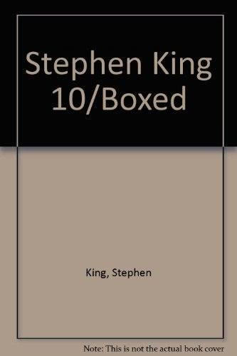 9780451927965: Stephen King 10/Boxed