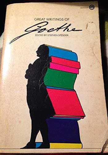 9780452004795: Great Writings of Goethe