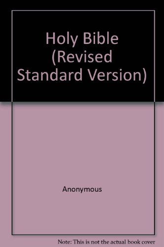 9780452004924: Holy Bible (Revised Standard Version)