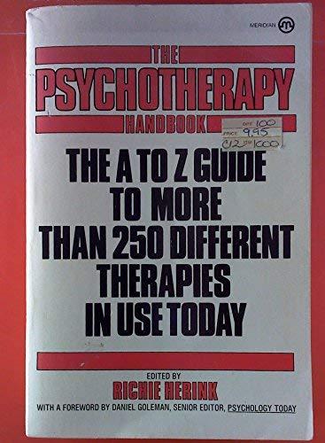 9780452005259: The Psychotherapy Handbook