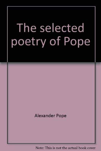 9780452005327: Pope, The Selected Poetry of Alexander