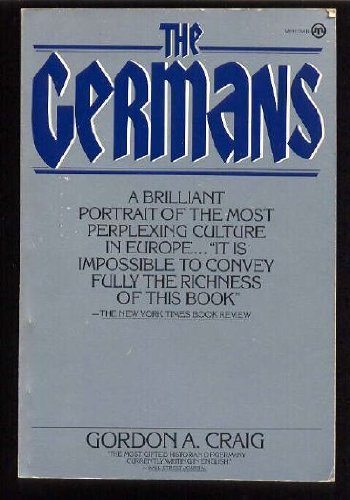 9780452006225: The Germans