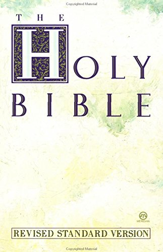 Holy Bible, Revised Standard Version: Anonymous