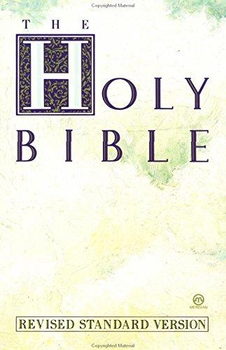 9780452006478: Holy Bible, Revised Standard Version (Meridian)