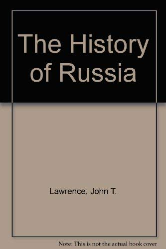9780452006706: The History of Russia