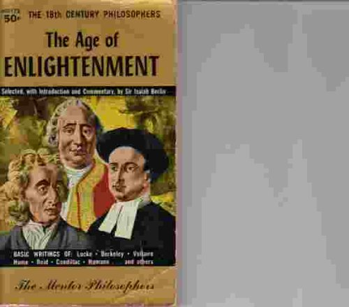 9780452007000: The Age of Enlightenment: The 18th Century Philosophers (Meridian)
