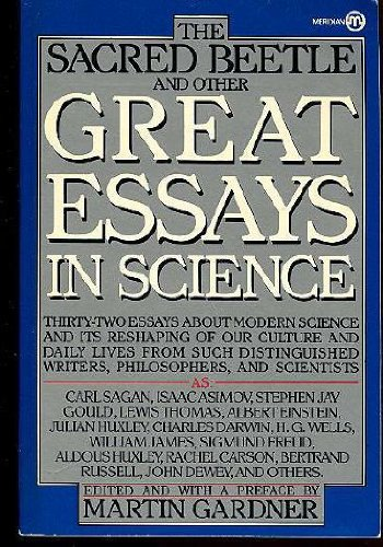 9780452008045: The Sacred Beetle and Other Great Essays in Science (Meridian)