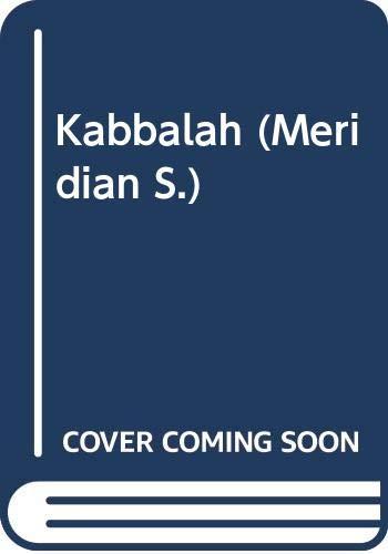9780452008878: Scholem Gershom : Kabbalah (Meridian)