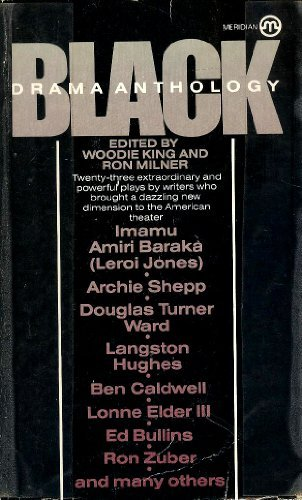 9780452009028: Black Drama Anthology (Meridian)