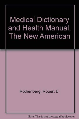 9780452009103: Medical Dictionary and Health Manual, The New American