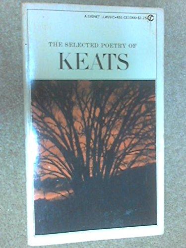 9780452009561: Keats, The Selected Poetry of (Meridian)