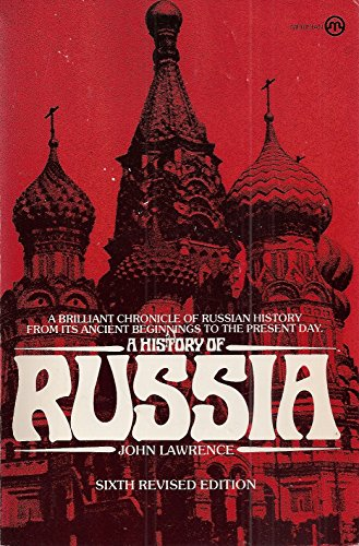 9780452009738: The History of Russia (Meridian)