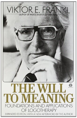 9780452010345: The Will to Meaning (Meridian)