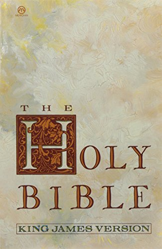 9780452010628: The Holy Bible. King James Version (Meridian)