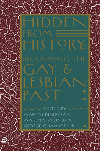 9780452010673: Hidden from History: Reclaiming the Gay and Lesbian Past