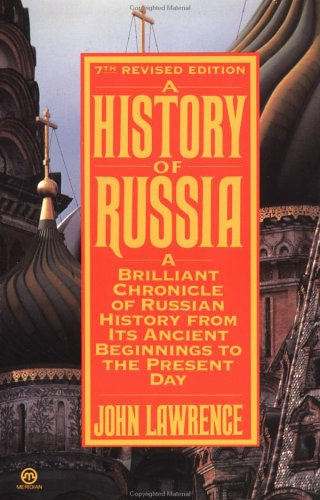 9780452010840: The History of Russia: Seventh Revised Edition (Meridian)