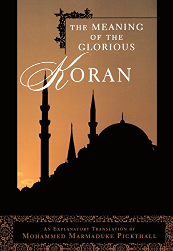 9780452011809: The Meaning of the Glorious Koran