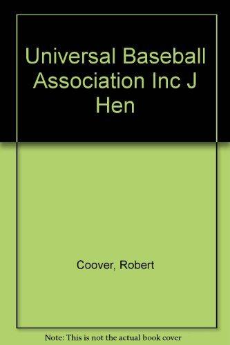 9780452250376: The Universal Baseball Association, Inc., J. Henry Waugh, Prop.