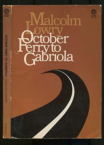 9780452250475: October Ferry to Gabriol