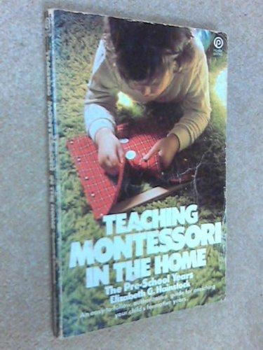 9780452251281: Teaching Montessori in the Home: The Preschool Years