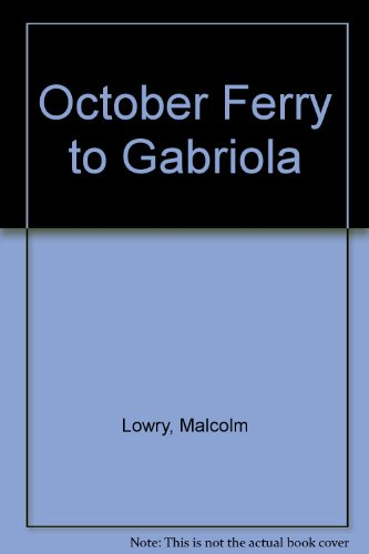 9780452251557: October Ferry to Gabriola