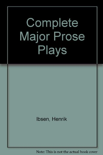 9780452251717: The Complete Major Prose Plays