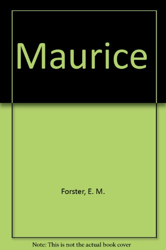 9780452251953: Maurice by Forster, E. M.