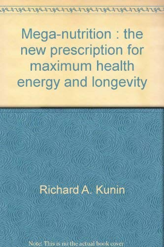 9780452252714: Mega Nutrition (A Plume book)