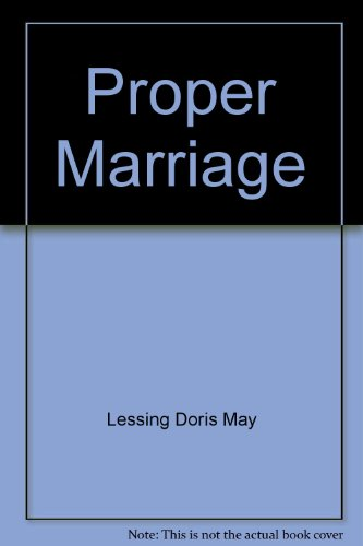9780452253100: Proper Marriage by Lessing Doris May