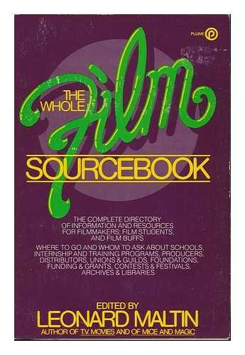9780452253612: The Whole Film Sourcebook (Plume)