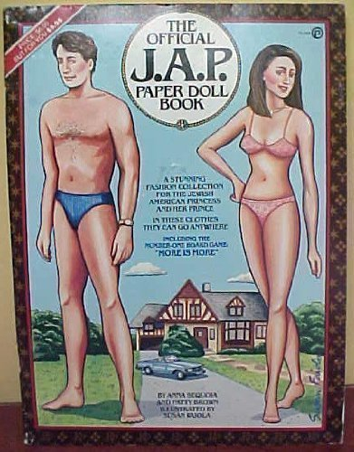 9780452254220: The Official J.A.P. Paper Doll Book: A Stunning Fashion Collection for a Jewish American Prince and Princess, in These Clothes They Can Go Anywhere