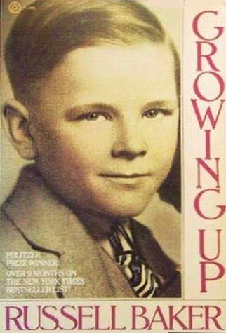 9780452254343: Baker Russell : Growing up (Plume)