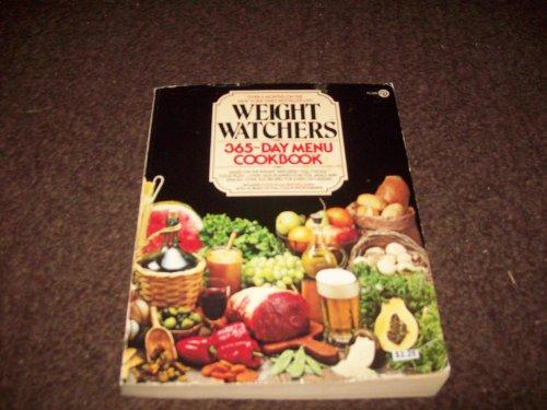 9780452254350: Weight Watchers : Weight Watchers 365-Day Menu Cookbook